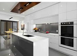 Black And White Contemporary Kitchen - 11 modern white kitchen ideas for your kitchen