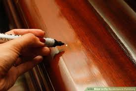 how to fix scratches in furniture 8 steps with pictures