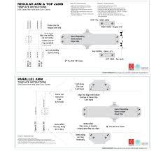 Overhead Door Closer Adjustment by Hager 5400 Overhead Door Closer Standard Duty Grade 2
