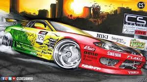 nissan silvia drawing csdesignrd nissan silvia s15 boso cs youtube