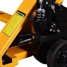 amazon com goplus hydraulic hand pallet truck heavy duty jack 27