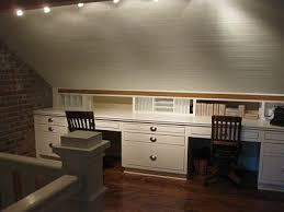 bureau sous pente aménager une chambre sous les combles ou le grenier