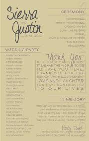 programs for a wedding ceremony wedding ceremony programs finding wedding ideas