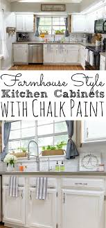 chalk paint kitchen cabinets images painting kitchen cabinets with chalk paint simply today