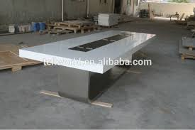 Black Boardroom Table U Shape Design Modern Conference Desk Black Modern Boardroom