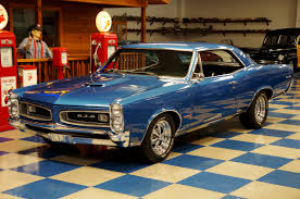 1966 pontiac gto u2013 blue u2013 a u0026e classic cars