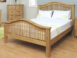 Oak Bed Frame Annaghmore Tullamore Solid Oak Bedframe Buy At Bestpricebeds