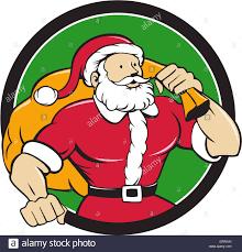cartoon santa claus christmas superhero stock photos u0026 cartoon