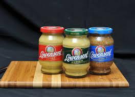 lowensenf mustard lowensenf imported mustard g w sausage