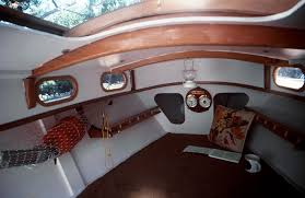 Sailboat Interior Ideas The Stevenson Projects U0027 Weekender