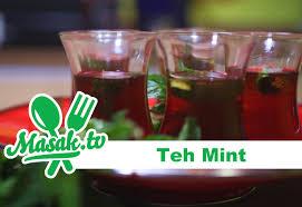 Teh Mint teh mint minuman 040