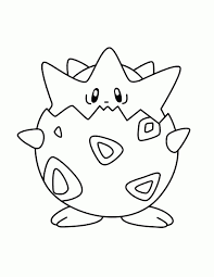 pokemon coloring pages togepi togepi coloring pages free coloring for kids 2018