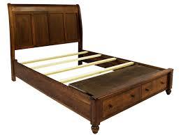 Zelen Bedroom Set Dimensions L J Gascho Furniture Covington King Storage Bed With Sleigh