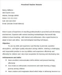 Sample Objective Statements For Resumes Teaching Resume Objective Statement Sample Teacher Resume Sample