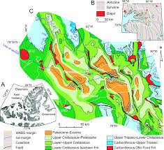 Southwest Canada Map by An Allochthonous Salt Canopy On Axel Heiberg Island Sverdrup
