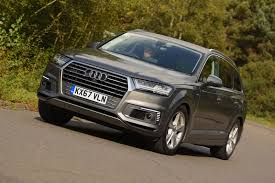 audi jeep 2016 audi q7 e tron 2017 uk review autocar