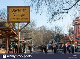 winter markets and bavarian in hyde
