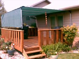 Roll Up Awnings Decks Awning Diy Pergola Cover We Have A Over Our Deck But Needed Diy