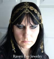 chain headpiece nouveau goddess chain headpiece chain headdress on storenvy