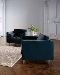 Velvet Armchair Sale Mid Century Modern Sofas U0026 Sectionals Rove Concepts Furniture