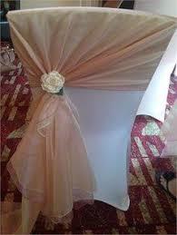 Diy Wedding Chair Covers Diy Tulle Chair Covers Could Hopefully Cover All Chairs For Under