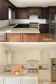 is it better to paint or spray kitchen cabinets what s the best paint for kitchen cabinets a beautiful mess