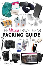 Wyoming travel accessories images The ultimate travel gear packing guide the blonde abroad jpg
