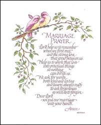 wedding blessing words marriage prayer paper tole 3d kit size 8x10 8 461