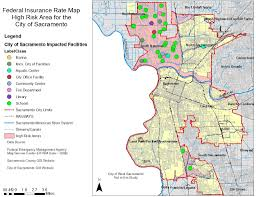 Fema Map Store Using Gis To Determine Flooding Issues For The Sacramento Area