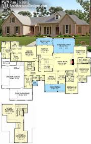 Large 1 Story House Plans House Floor Plans 4 Bed Room Fujizaki