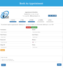 appointment scheduler u2013 an online booking reservation