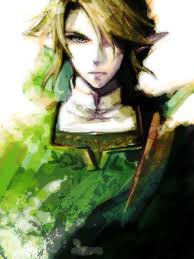 zelda link with black hair art inspired by the legend of zelda nintendo created by 光と影