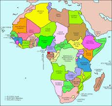 mapa de africa atlas el mapa politico de africa