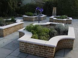 Raised Patio Construction Garden Walls And Patios Home Outdoor Decoration