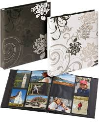 400 photo album grindy 6x4 hv slip in 400 albums black pages