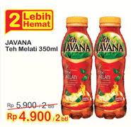 Teh Javana 350ml promo harga teh javana minuman ringan terbaru minggu ini hemat id
