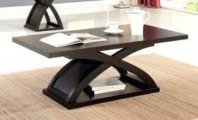 coffee tables dazzling espresso coffee table park avenue and two