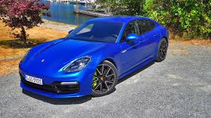 porsche panamera blue 2018 porsche panamera turbo s e hybrid first drive review