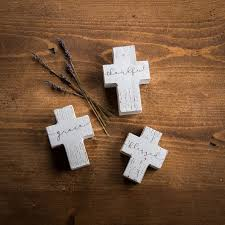 small wood crosses small wooden cross sitter