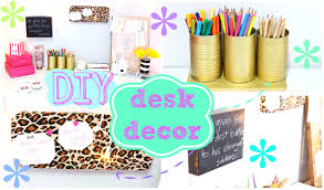 diy desk decor easy inexpensive