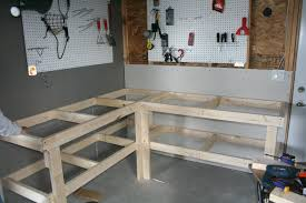 Garage Plans With Storage Garage Bench Plan Bench Decoration