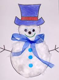 preschool snowman craft xmasblor