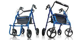 senior walkers with seat hugo navigator rolling walker transport chair hugo mobility