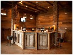 neoteric design rustic bar ideas for basement finished basement