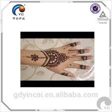 indian henna stencil tattoo sticker fashion design and high