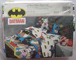Batman Twin Bedding Set by Sealed 1989 Batman U0026 Joker Bedding Bed Sheets Dc Figure Comics