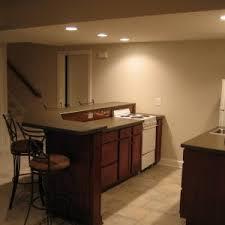 interior elegant basement bar ideas with nice furniture design