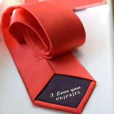 secret message tie