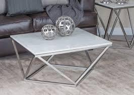 u0026 stainless steel marble square coffee table u0026 reviews