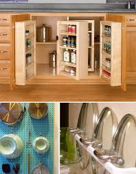 kitchen cabinet hacks small space hacks 24 tricks for living in tiny apartments urbanist